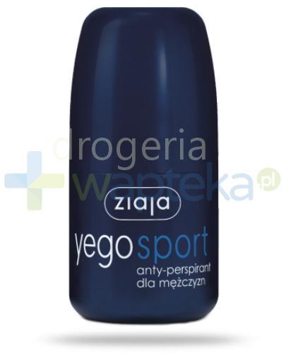 Ziaja Yego antyperspirant sport dla mężczyzn 60 ml