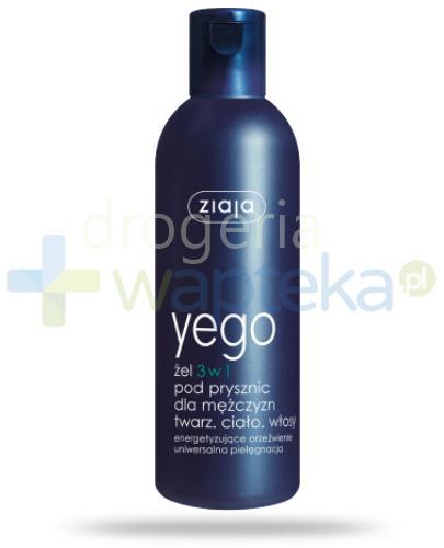 Ziaja Yego żel 3 w 1 pod prysznic 300 ml