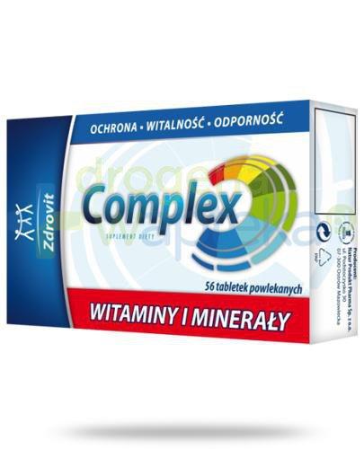 Zrovit Complex Witaminy i Minerały 56 tabletek