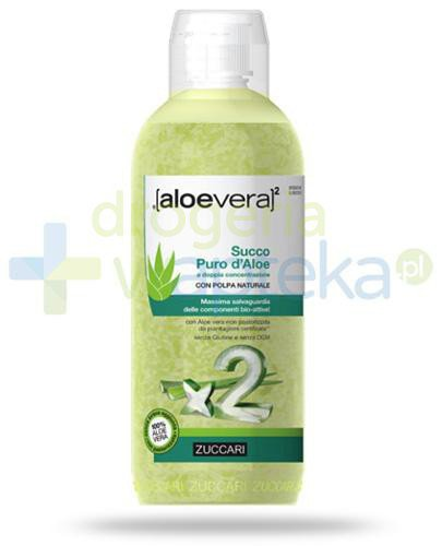 Zuccari AloeVera 2 koncentrat aloesowy 1000 ml