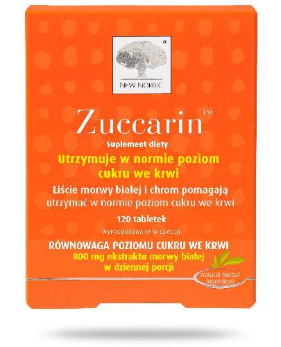 Zuccarin 120 tabletek