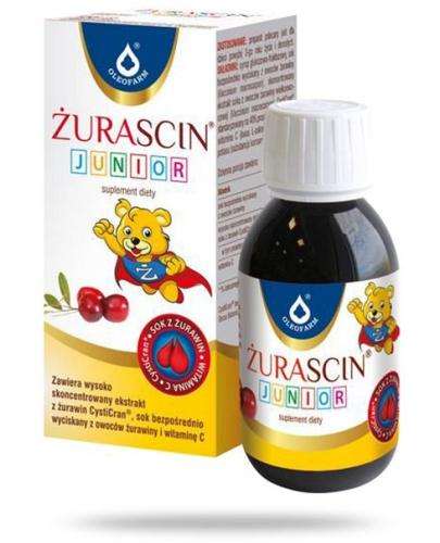 Żurascin Junior syrop 100 ml