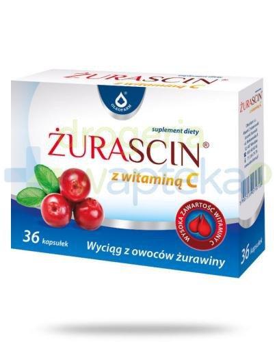 Żurascin z witaminą C 36 kapsułek