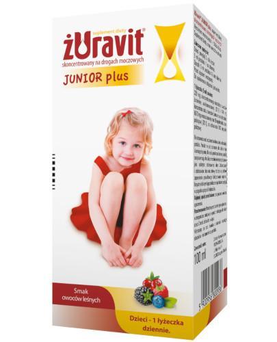 Żuravit Junior Plus syrop o smaku owoców leśnych 100 ml
